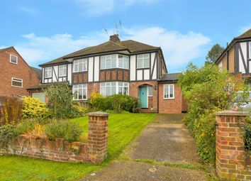 Thumbnail 3 bed semi-detached house for sale in Tudor Road, Wheathampstead, St. Albans