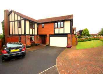 Thumbnail 5 bed detached house for sale in Cookes Wood, Broompark, Durham