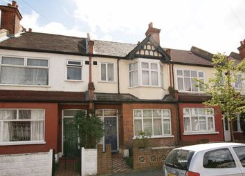 Thumbnail 3 bed terraced house to rent in Cromer Road, London