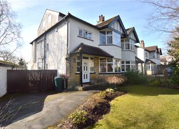 Thumbnail 5 bed semi-detached house for sale in Gledhow Lane, Roundhay, Leeds