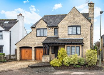 Thumbnail 4 bed detached house for sale in Stoke Park Court, Bishops Cleeve, Cheltenham