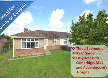Thumbnail 3 bedroom bungalow to rent in Walden Way, Great Shelford, Cambridge