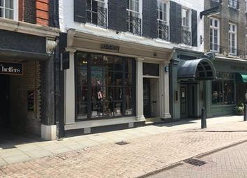 Thumbnail Retail premises to let in Trinity Street, Cambridge