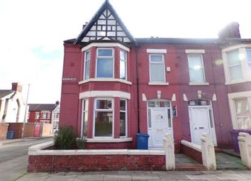 Thumbnail 4 bed end terrace house for sale in Salisbury Road, Wavertree, Liverpool, Merseyside
