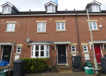 Thumbnail 4 bed terraced house to rent in Hartley Gardens, Gloucester
