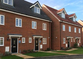 Thumbnail 3 bed terraced house for sale in Ram Gorse Park, Elizabeth Way, Harlow