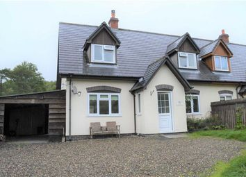 Thumbnail 3 bed semi-detached house to rent in Gwenlle, Dolfach, Dolfach, Llanbrynmair, Powys