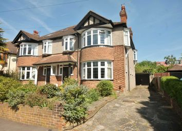 Thumbnail 4 bed semi-detached house for sale in Cromford Way, New Malden