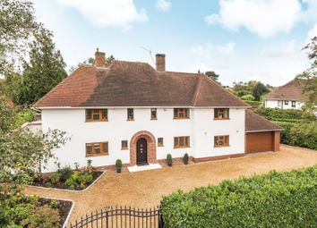 Thumbnail 5 bed detached house for sale in Pyrford, Woking, Surrey