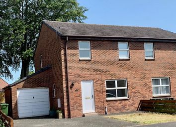 Thumbnail 3 bed semi-detached house for sale in Claremont Drive, Longtown