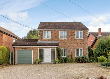 Thumbnail 3 bedroom detached house for sale in The Street, Whatfield, Ipswich
