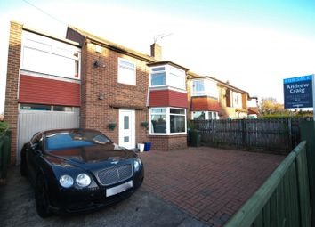 Thumbnail 4 bed semi-detached house for sale in Church Avenue, Gosforth, Newcastle Upon Tyne