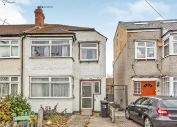 Thumbnail 3 bed end terrace house for sale in Grove Road, Mitcham