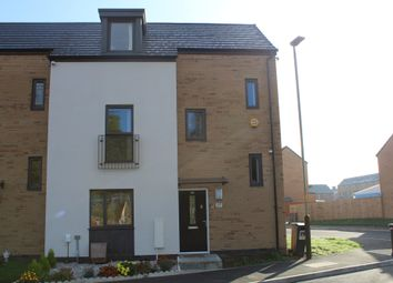 Thumbnail 4 bed town house for sale in Charles Bennion Walk, Belgrave, Leicester