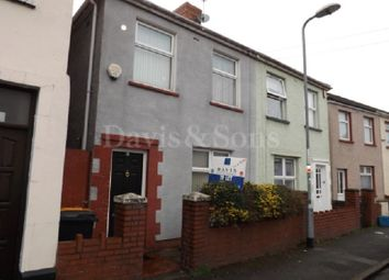 Thumbnail 2 bed semi-detached house to rent in Downing Street, Newport, S Wales.