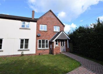 Thumbnail 3 bed semi-detached house for sale in Lychgate Park, Copplestone, Crediton, Devon