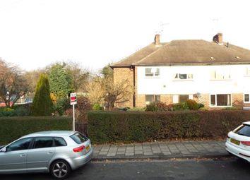 Thumbnail 2 bedroom maisonette for sale in Hanley Avenue, Bramcote, Nottingham, Nottinghamshire