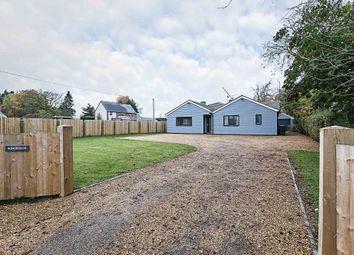 Thumbnail 4 bedroom detached bungalow for sale in Dullingham Road, Newmarket