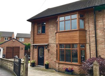 Thumbnail 3 bedroom semi-detached house for sale in The Croft, Leabrooks, Alfreton