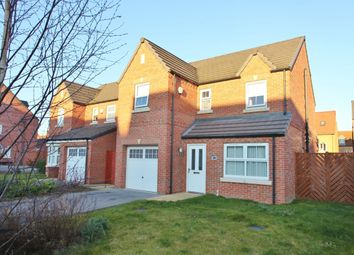 Thumbnail 4 bed detached house for sale in Foundry Gate, Wombwell, Barnsley