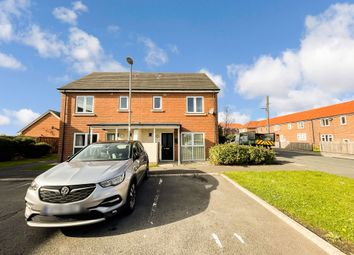 Thumbnail 3 bed semi-detached house for sale in Brandling Court, Shotton Colliery, Durham