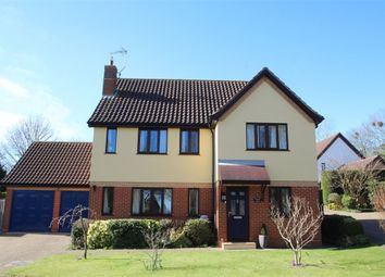 Thumbnail 4 bed detached house for sale in Webbs Close, Combs, Stowmarket, Suffolk
