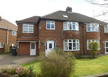 Thumbnail 5 bed semi-detached house for sale in Grayshon Drive, Acomb, York