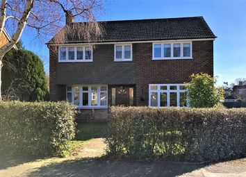 Thumbnail 4 bed detached house for sale in Turnville Close, Lightwater, Surrey