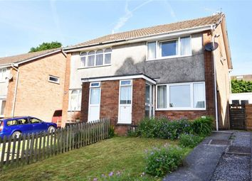 Thumbnail 2 bed semi-detached house for sale in Clos Crucywel, Cwmrhydyceirw, Swansea