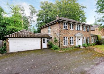 Thumbnail 4 bed detached house for sale in Upper Chobham Road, Camberley, Surrey