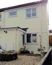 Thumbnail 3 bed semi-detached house for sale in Mount Batten Close, Newquay, Cornwall