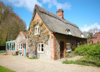 Thumbnail 2 bed cottage for sale in The Common, Hanworth, Norwich