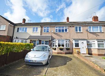 Thumbnail 3 bed terraced house to rent in Front Lane, Upminster