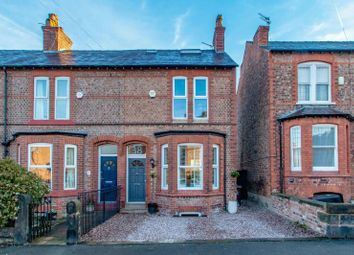 Thumbnail 3 bed end terrace house for sale in Hawthorn Road, Hale, Altrincham