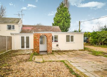 Thumbnail 2 bedroom semi-detached bungalow for sale in School Road, St. Johns Fen End, Wisbech