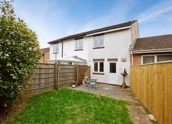Thumbnail 2 bed terraced house for sale in Mellons Close, Newton Abbot, Devon