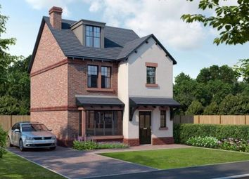 Thumbnail 4 bed detached house for sale in The Shires, Wood Lane, Beechwood, Runcorn