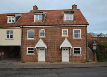 Thumbnail 3 bed town house to rent in High Street, Coltishall, Norwich