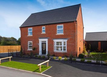 "Thumbnail 4 bed detached house for sale in ""Layton"" at Newton Road, Newton Solney, Burton-On-Trent"