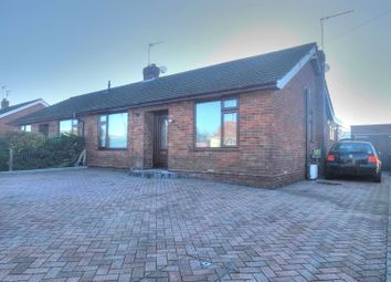 Thumbnail 3 bed semi-detached bungalow for sale in Homefield Avenue, Great Yarmouth