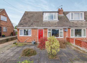Thumbnail 3 bed semi-detached bungalow for sale in Hollingthorpe Road, Hall Green, Wakefield