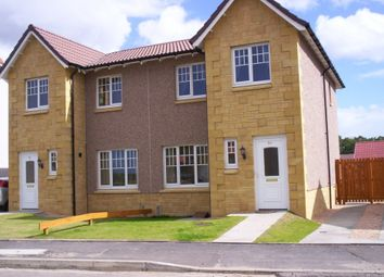 Thumbnail 3 bedroom semi-detached house to rent in Marleon Field, Elgin, Moray