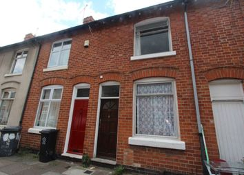 Thumbnail 2 bedroom terraced house to rent in Muriel Road, Leicester