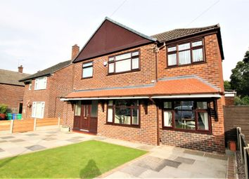 Thumbnail 3 bed detached house for sale in Partridge Avenue, Wythenshawe, Manchester