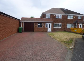 Thumbnail 3 bed semi-detached house to rent in Saxon Close, Langley