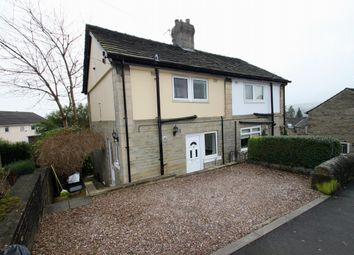 Thumbnail 3 bed semi-detached house to rent in Kirk Lane, Hipperholme, Halifax