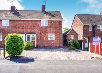 Thumbnail 2 bedroom semi-detached house for sale in South Parade, Worksop