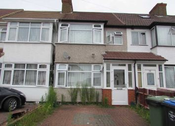 Thumbnail 3 bed terraced house for sale in Woodside Close, Wembley, Middlesex