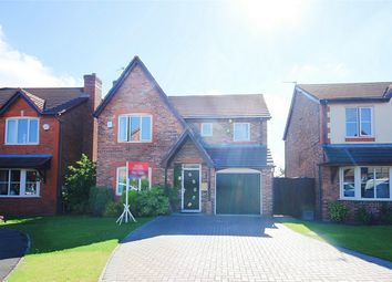 Thumbnail 4 bed detached house for sale in Dovecote Drive, Haydock, St Helens