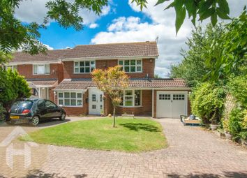 Thumbnail 4 bed detached house for sale in Langdale Drive, Freshbrook, Swindon